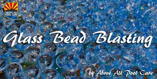 Glass Bead Blasting Pool Tile Cleaning Method