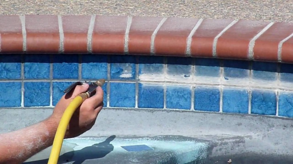 Diy pool tile cleaning or hire a professional above all pool care llc for What does baking soda do to swimming pool water