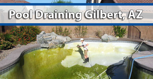 Pool Draining Gilbert Az Above All Pool Care