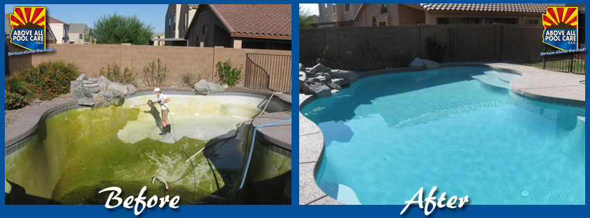 Pool Acid Washing Scottsdale Az Above All Pool Care Llc