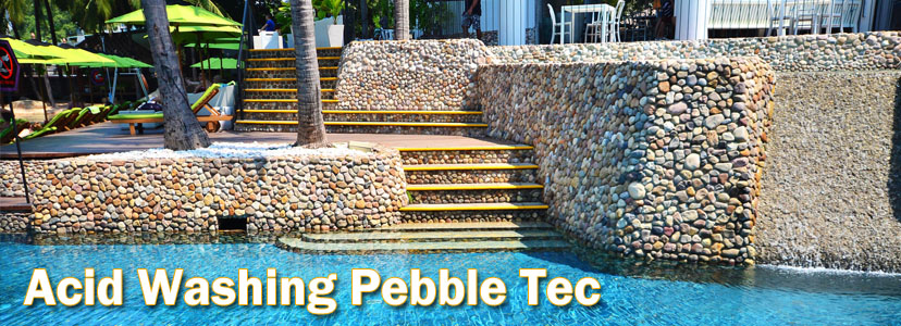 Acid Washing Pebble Tec Pools Chandler AZ
