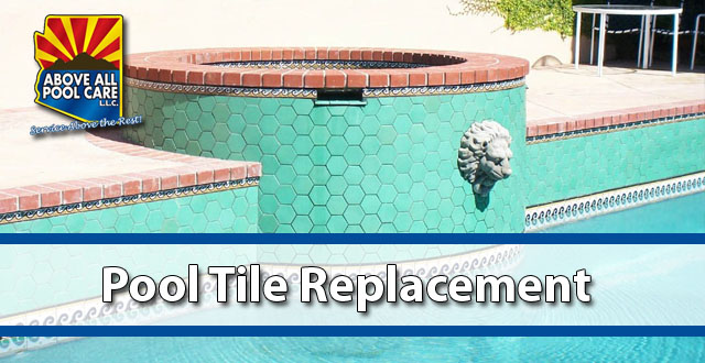 Pool Tile Replacement Cost Options Above All Pool Care