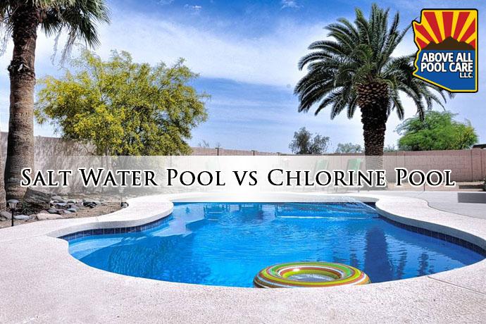 salt water pool vs chlorine pool