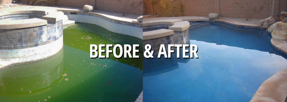Pool Cleaning Before And After : Pool tile cleaning archives above all care